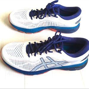 ASICS Gel Keyano 25 Running Shoe Blue/White 11.5